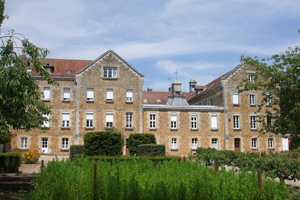 Former mother house of the Dominican Sisters of St Catherine of Siena in Etrépagny, France, which was founded in 1878, was closed down and sold in 2010.